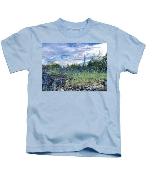 Spring Sky Kids T-Shirt