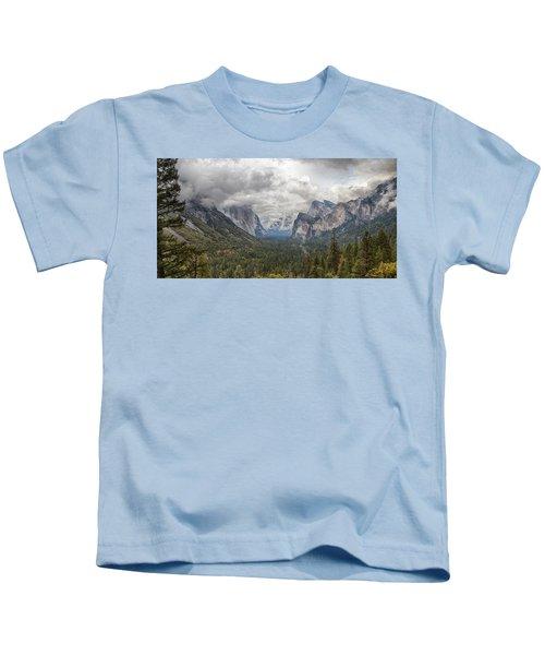 Spring Storm Yosemite Kids T-Shirt