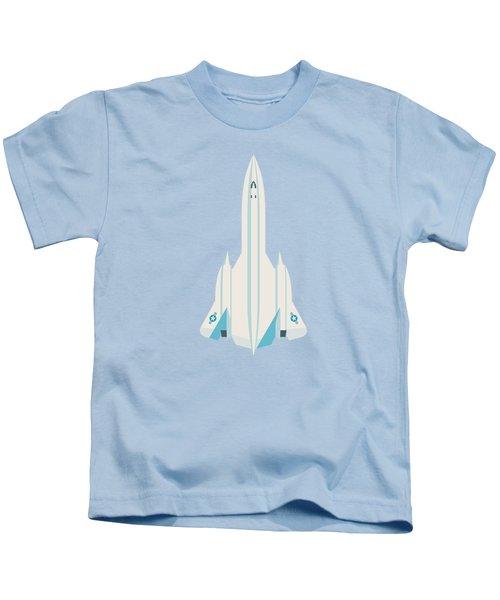 Sr-71 Blackbird Jet Aircraft - Sky Kids T-Shirt