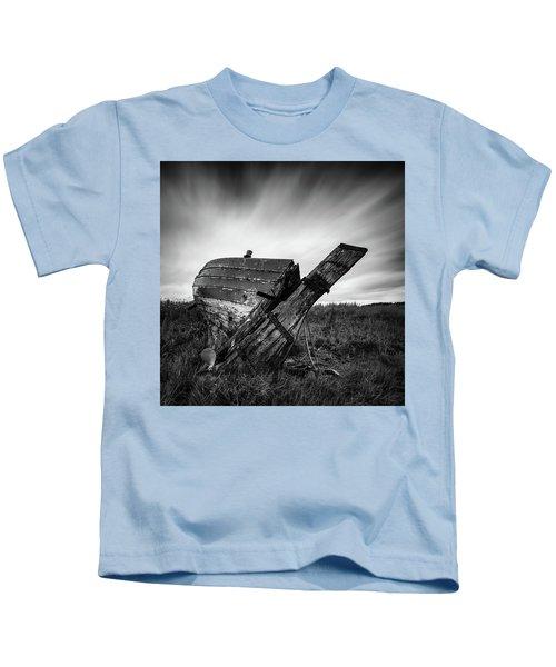 St Cyrus Wreck Kids T-Shirt