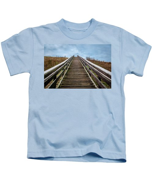 Stairway To The Sky Kids T-Shirt
