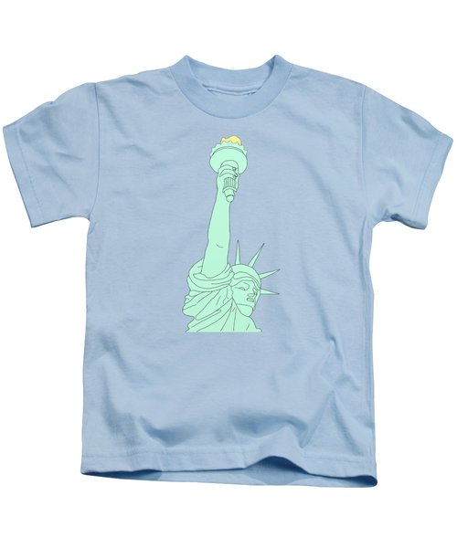 Statue Of Liberty Kids T-Shirt