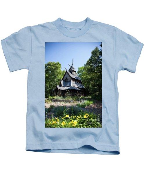 Stavkirke Church Kids T-Shirt
