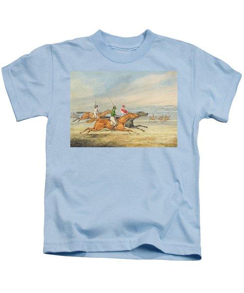 Steeplechasing Kids T-Shirt