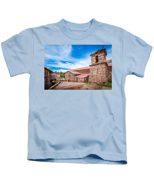 Stone Buildings Kids T-Shirt