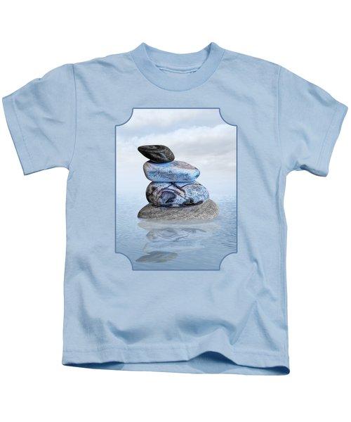 Stones In Water Kids T-Shirt