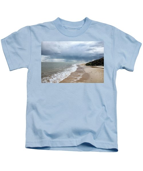Storms On The Horizon Kids T-Shirt