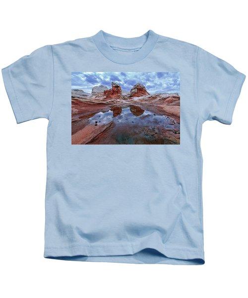 Stormy Reflection Kids T-Shirt