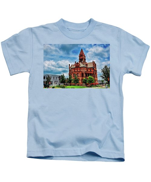 Sulphur Springs Courthouse Kids T-Shirt