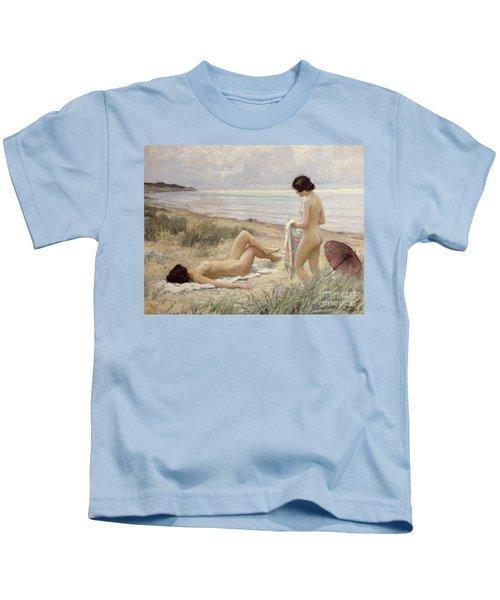 Summer On The Beach Kids T-Shirt