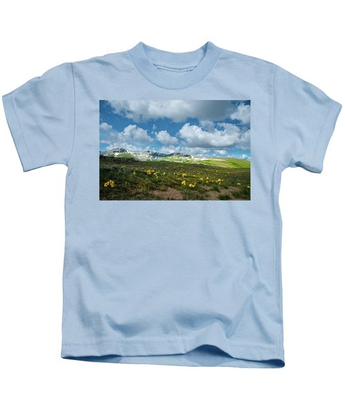 Summer On The Sawatch Range In Colorado  Kids T-Shirt