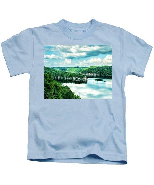 Summertime At Long Point Kids T-Shirt