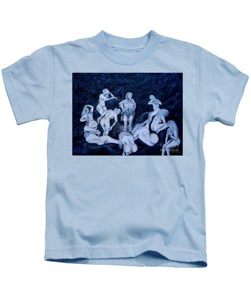 Sun Bath Kids T-Shirt