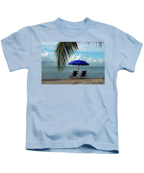 Sunday Morning At The Beach In Key West Kids T-Shirt