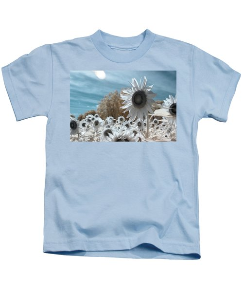 Sunflower Infrared  Kids T-Shirt