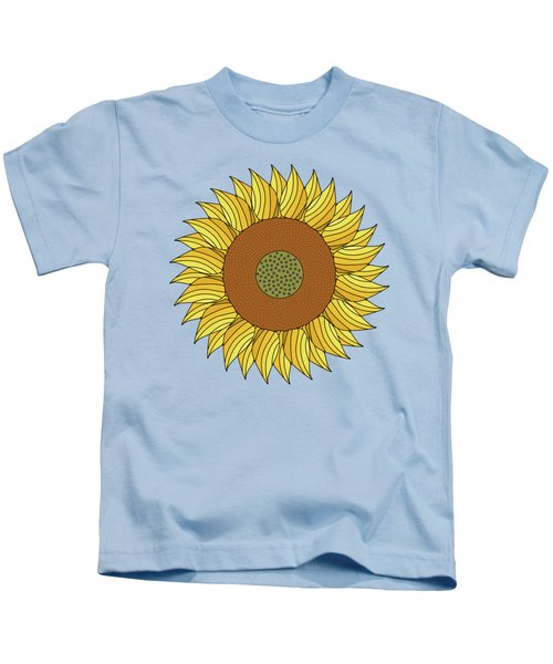 Sunny Day Kids T-Shirt by Absentis Designs