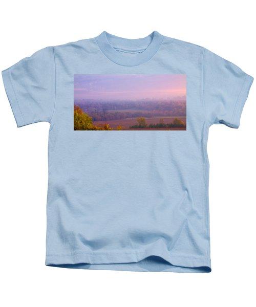 Sunrise Over Mid Valley 2 Kids T-Shirt
