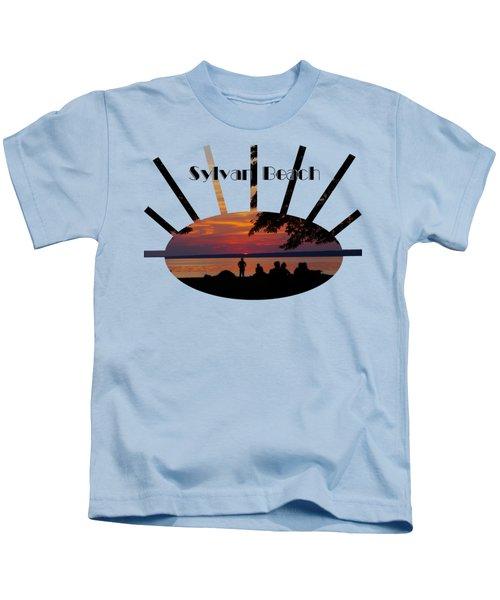 Sunset At Sylvan Beach - T-shirt Kids T-Shirt