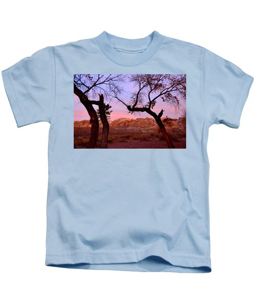 Sunset At The Swell Kids T-Shirt