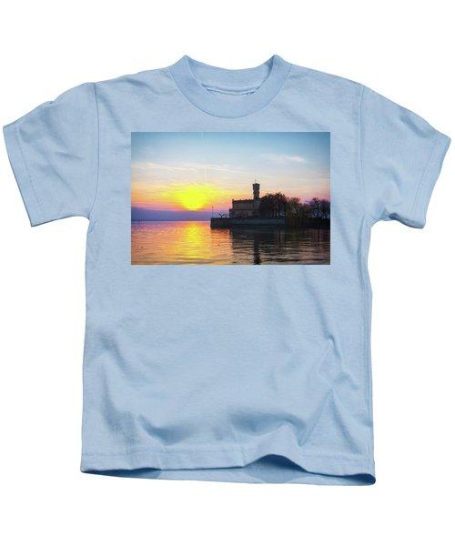 Sunset Colors Kids T-Shirt