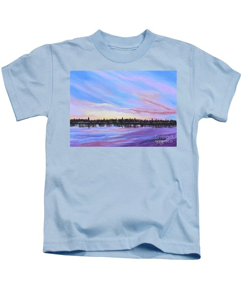 Sunset-ivanhoe2 Kids T-Shirt