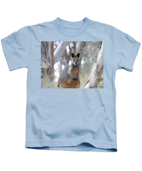 Swamp Wallaby Kids T-Shirt