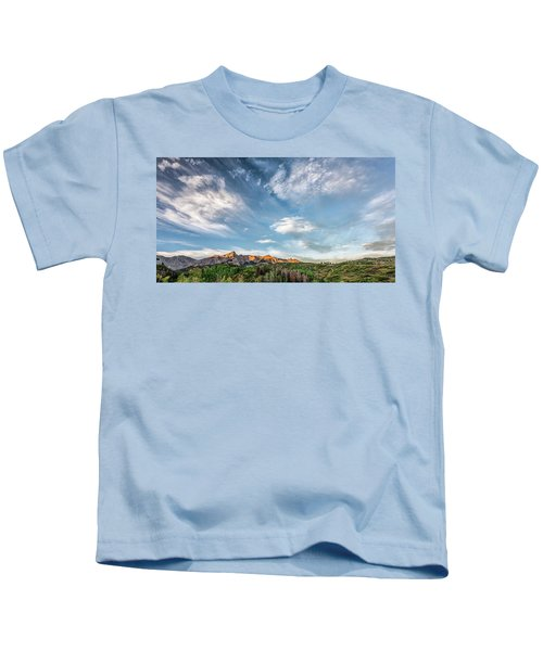 Sweeping Clouds Kids T-Shirt