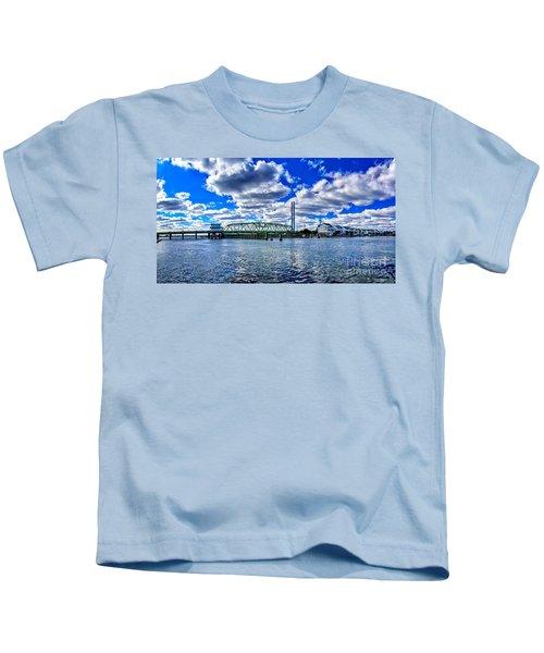 Swing Bridge Heaven Kids T-Shirt