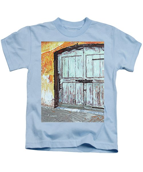 Switzerland Mint Door Kids T-Shirt