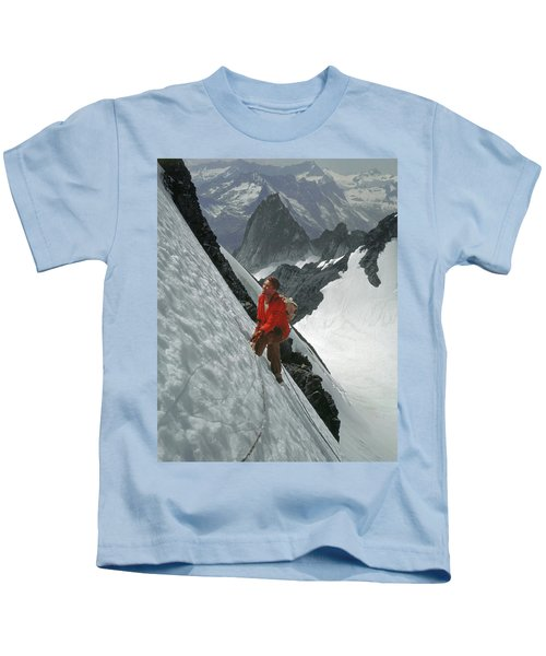 T-202707 Eric Bjornstad On Howser Peak Kids T-Shirt