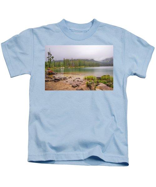 Taggert Lake Grand Teton Kids T-Shirt
