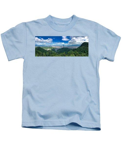 Taipei Panorama Kids T-Shirt