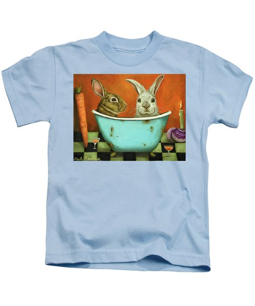 Tale Of Two Bunnies Kids T-Shirt