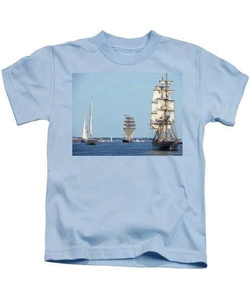 Tallships At Aarhus Kids T-Shirt