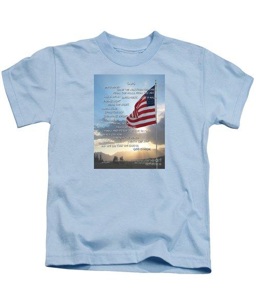 Taps Words Kids T-Shirt