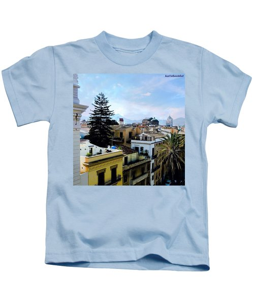 #tbt Family Trip To #sicily March 2011 Kids T-Shirt