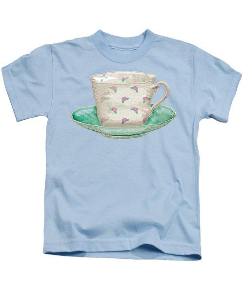 Teacup Garden Party 2 Kids T-Shirt