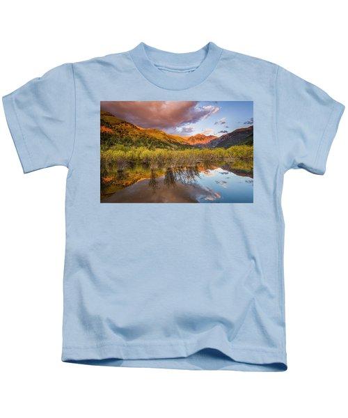 Telluride Valley Floor 2 Kids T-Shirt