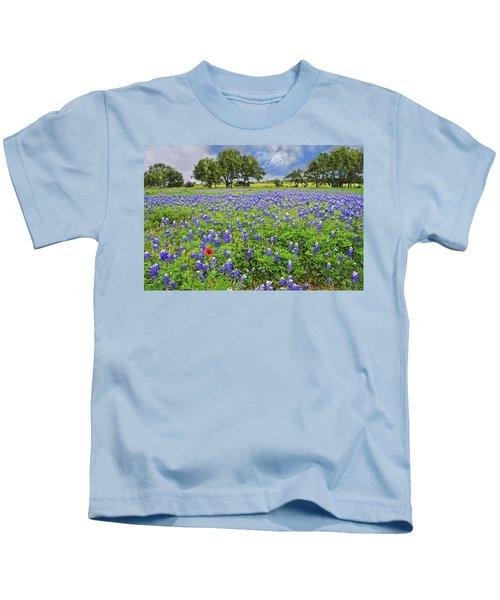 Texas Spring  Kids T-Shirt