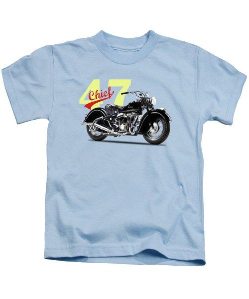 The 1947 Chief Kids T-Shirt by Mark Rogan