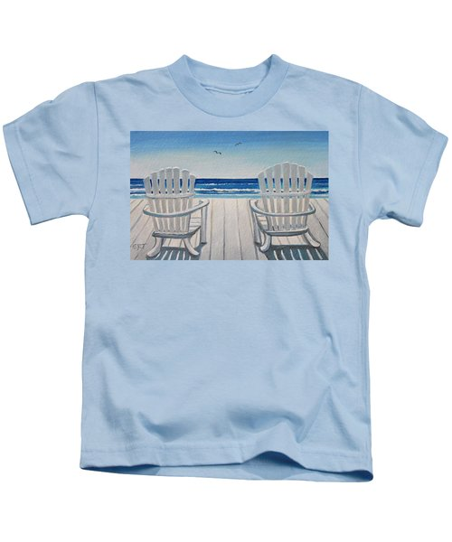 The Beach Chairs Kids T-Shirt