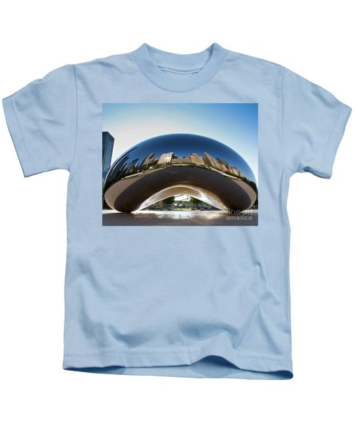The Bean's Early Morning Reflections Kids T-Shirt