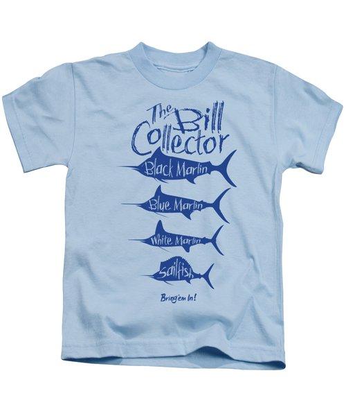 The Bill Collector Kids T-Shirt