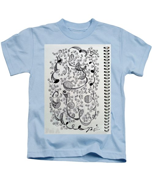 Chopin Nocturne No. 1 In B Flat Minor - Larghetto Kids T-Shirt