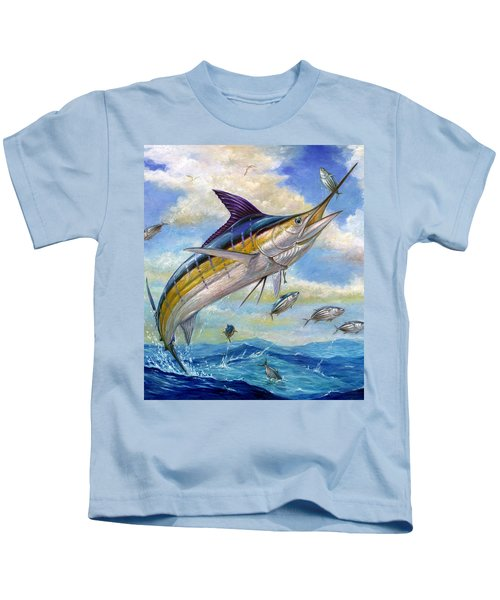 The Blue Marlin Leaping To Eat Kids T-Shirt