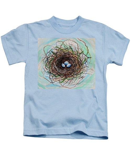 The Botanical Bird Nest Kids T-Shirt