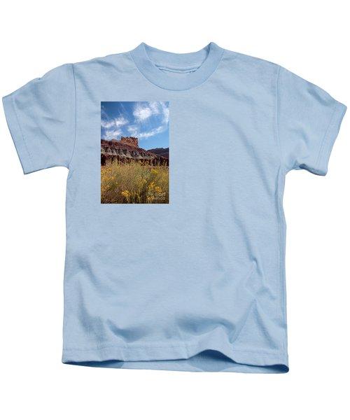 Rock Formation Capital Reef Kids T-Shirt