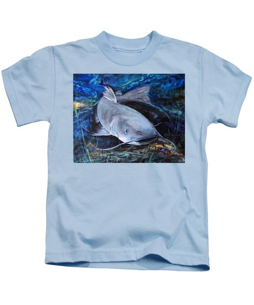 The Catfish And The Crawdad Kids T-Shirt