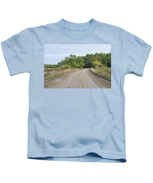 The Causway On Chisolm Island Kids T-Shirt