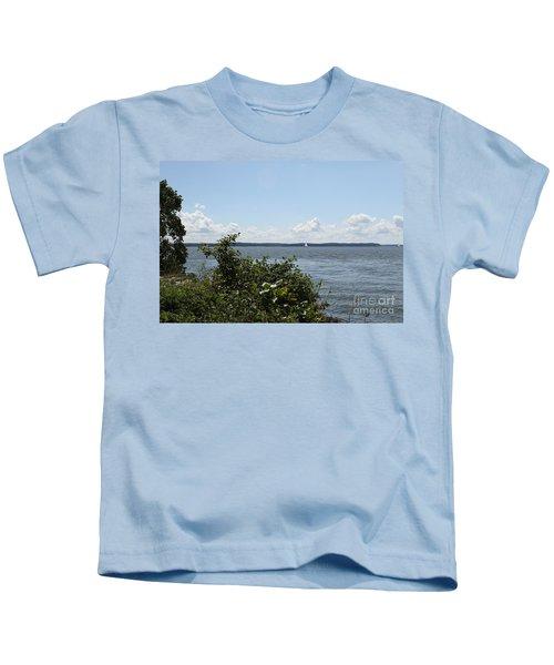 The Chesapeake From Turkey Point Kids T-Shirt